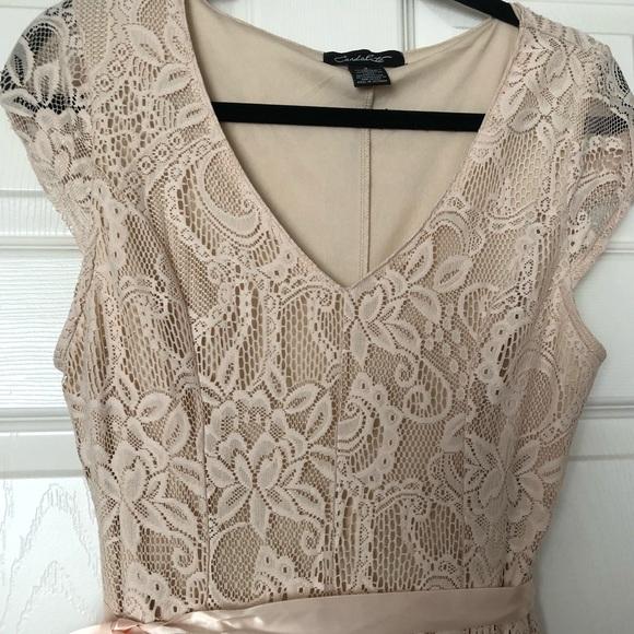 e803219ff2605 Candalite Dresses | Lace Floor Length Dress | Poshmark
